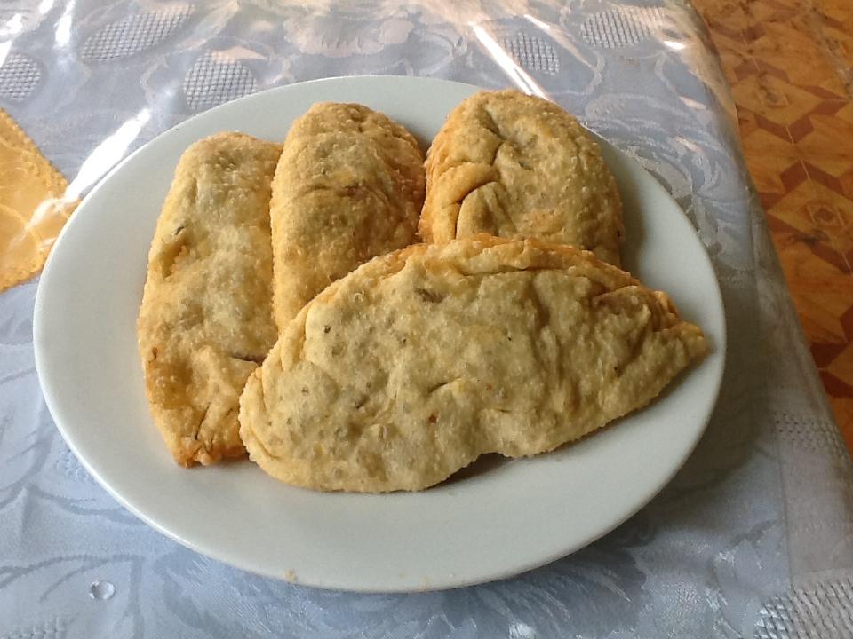 KHUUSHUUR ( beignets de mouton ou de boeuf)