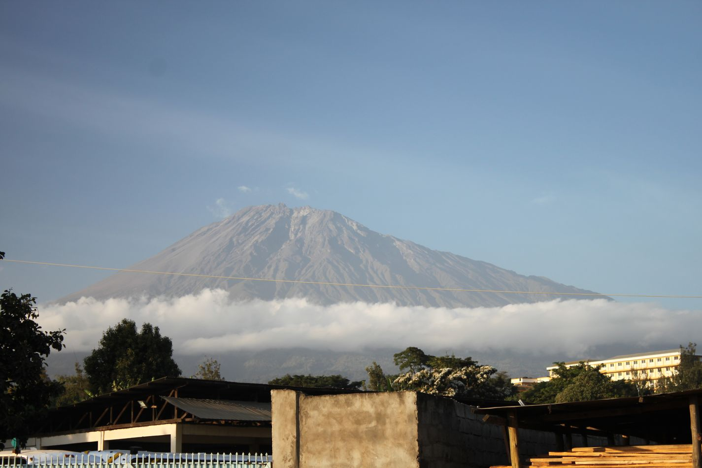 Arusha au pied du mont Meru