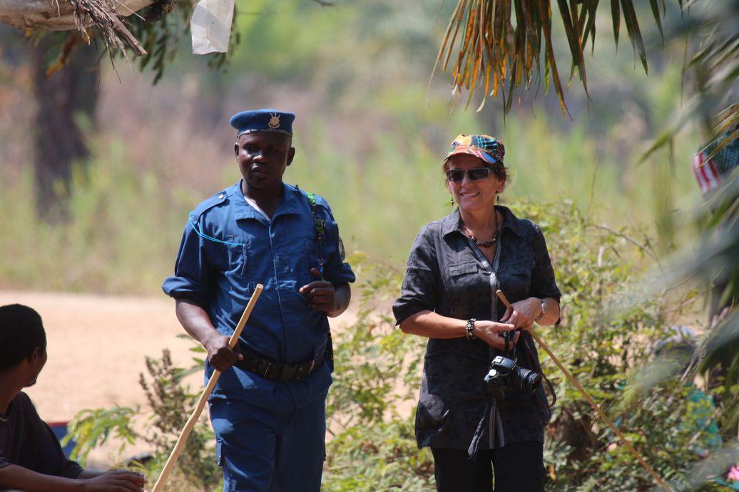 Hébergés par la police