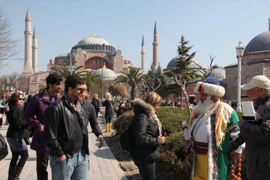 Belle journée à Istanbul