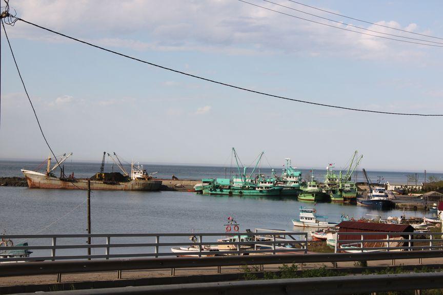 La mer Noire jusqu'à l'Est