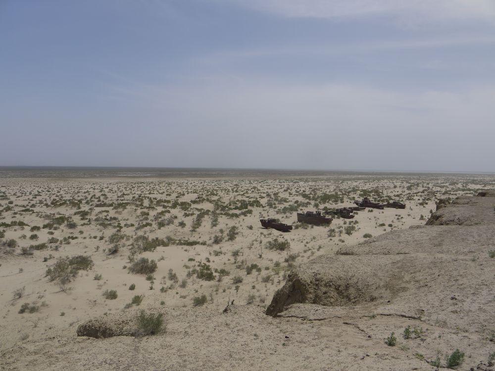 Le dernier râle de la mer d'Aral.