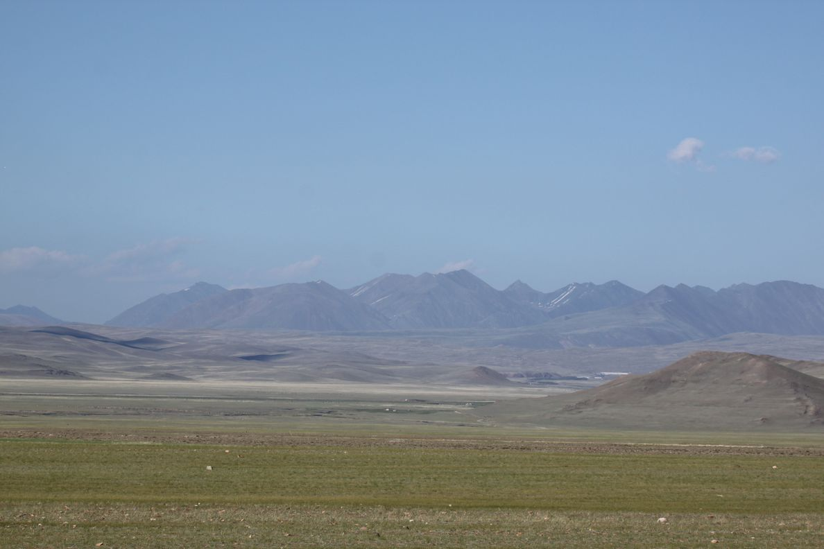 Vers la frontière Mongole.