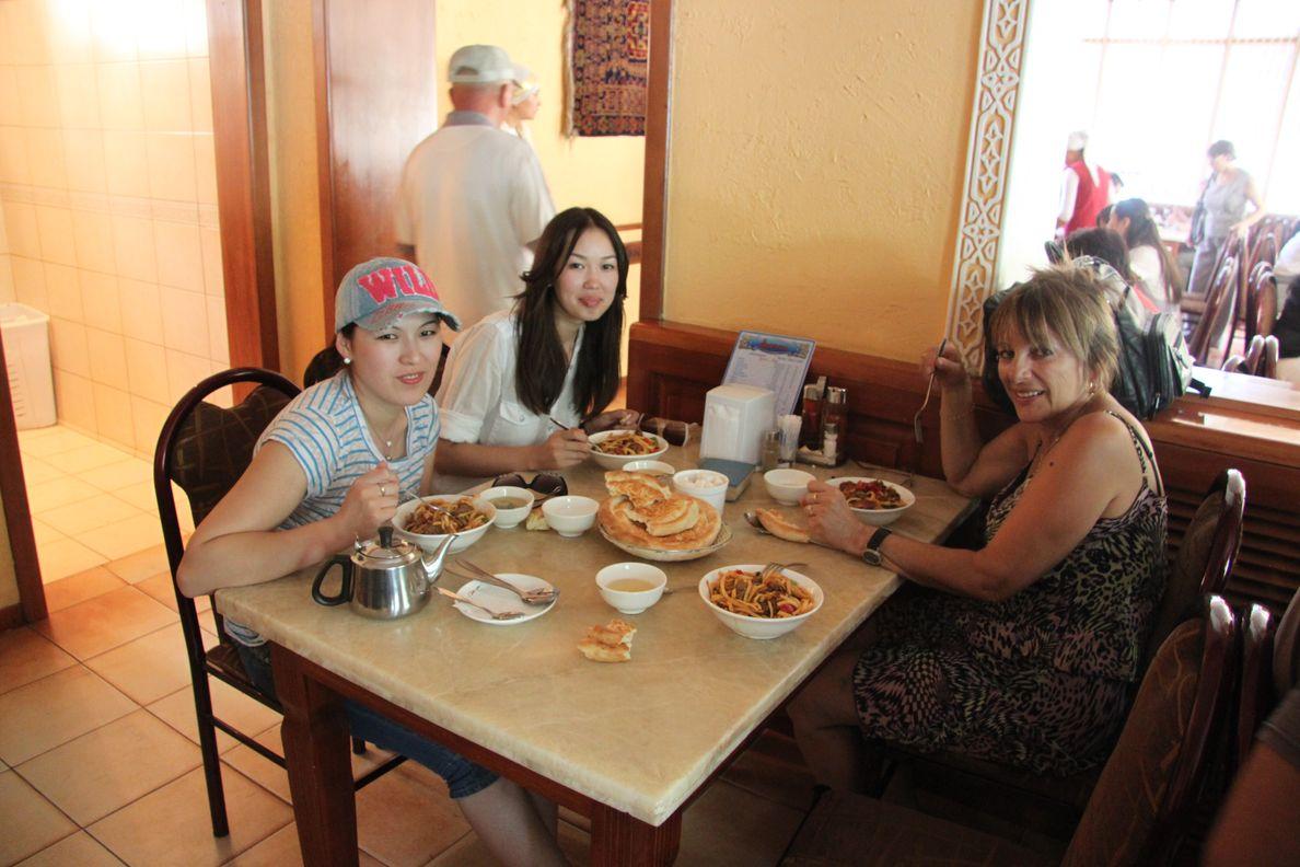 Bichkek et nos petites Kirghizes
