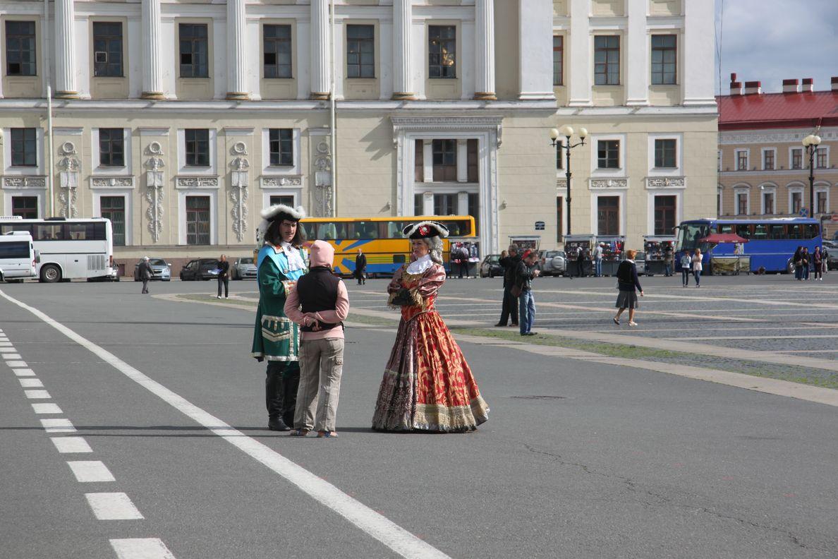 Marilou chez les Tsars.
