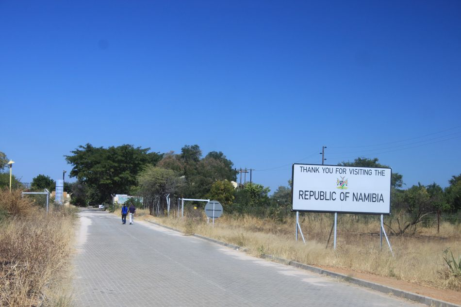 Entrée au Botswana