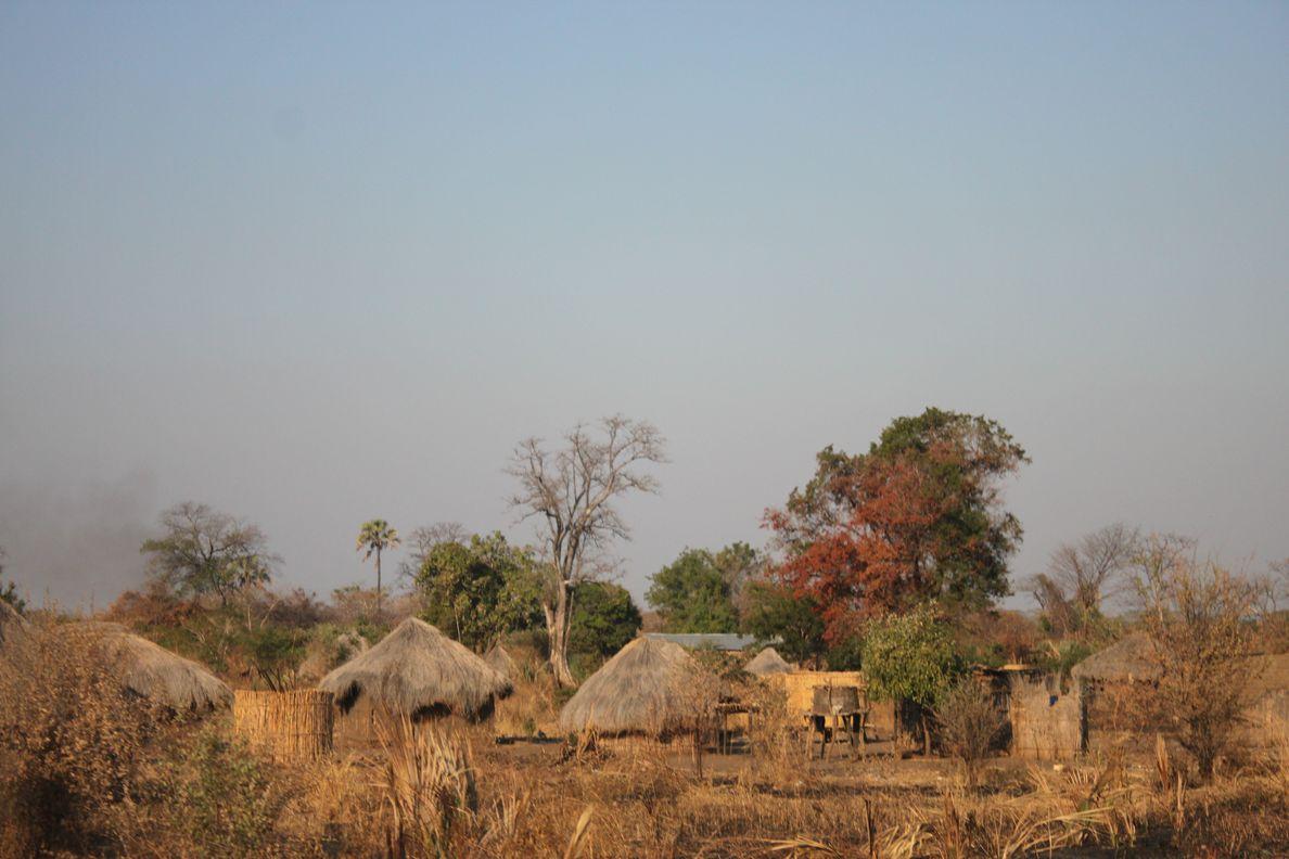 Arrivée en Zambie